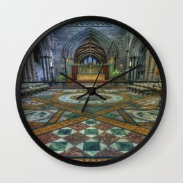 Soul Of My Saviour Wall Clock