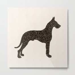 Dog III - Great Dane Metal Print
