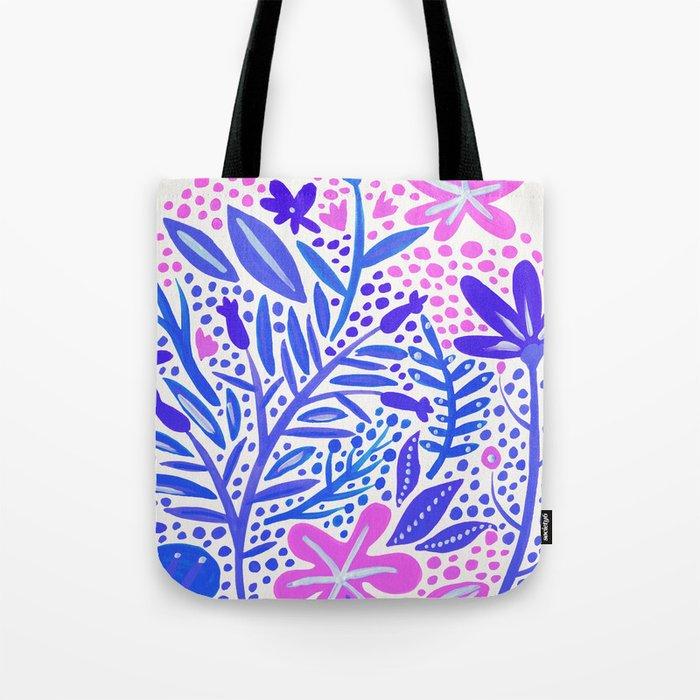 Garden – Indigo Palette Tote Bag