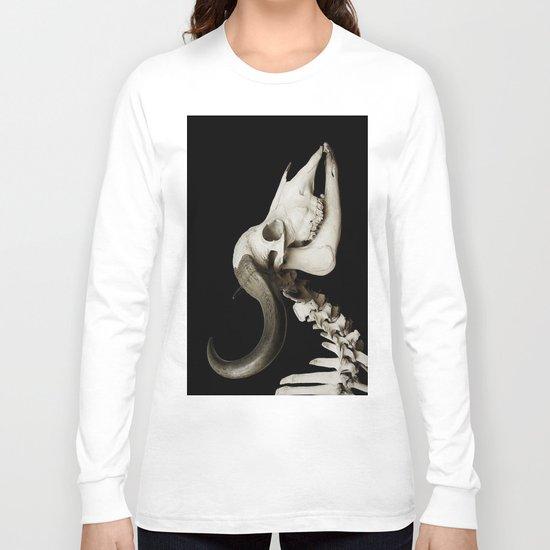 Cattle Skull 4 Long Sleeve T-shirt