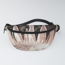 Pale Pink Chocolate Cherry Protea Fanny Pack