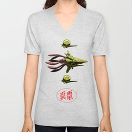 The Bioship Shinden Unisex V-Neck