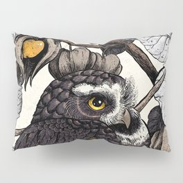 Spectacled Owl Pillow Sham