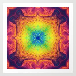 Psychedelic Two Art Print