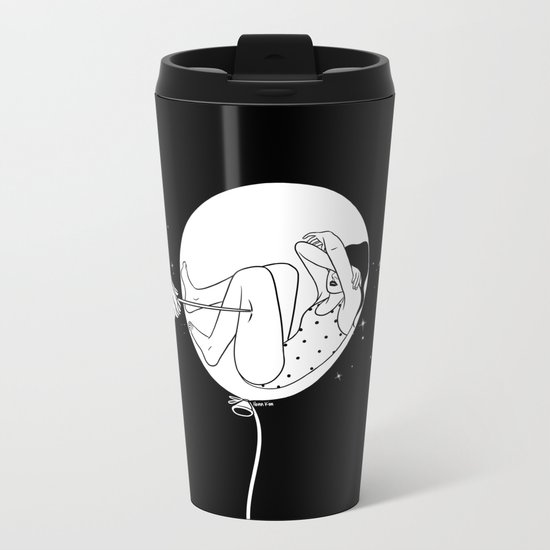 Don't kill my vibe Metal Travel Mug