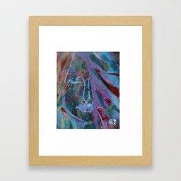 The Waning of Lamplight Framed Art Print