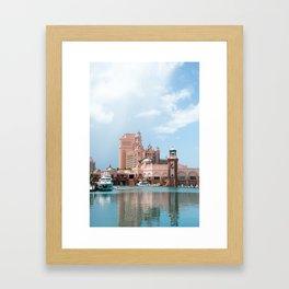 Marina Village, Paradise Island, Bahamas Framed Art Print
