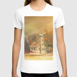 Autumn at Grand Island T-shirt