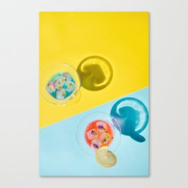 summer drinks #society6 #decor #buyart Canvas Print