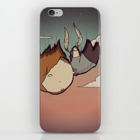 skyfall iPhone & iPod Skins featuring SkyFall by Bright Raven Designs