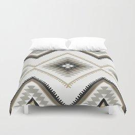 Beige Aztec Duvet Cover
