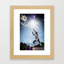 King Billy Framed Art Print