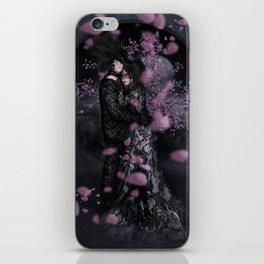 Bakeneko and Kitsune under the Sakura Tree iPhone Skin