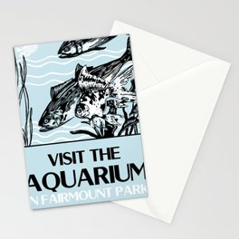 Visit the Aquarium Stationery Cards