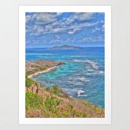 Buck Island from the East End - St. Croix, U.S. Virgin Islands, 2011 Art Print