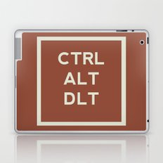CTRL ALT DLT Laptop & iPad Skin
