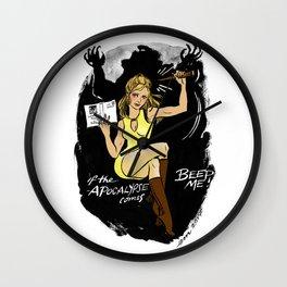Buffy Pin up Wall Clock