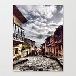 Puebla de Sanabria (Spain) Canvas Print