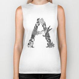 """A"" Biker Tank"