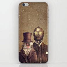 Victorian Robots  iPhone & iPod Skin