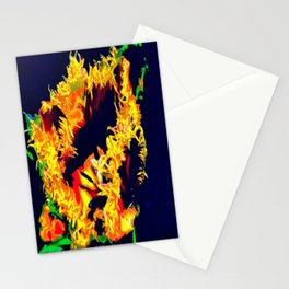 Flaming  Stationery Cards