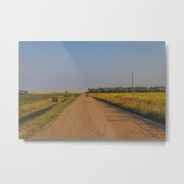 Countryside Near Garrison, ND 2 Metal Print