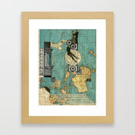 Maps Framed Art Print