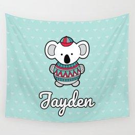 Custom Koala Jayden Wall Tapestry