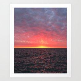 Pillar of Light Art Print