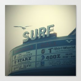 Ocean City Surf Mall Canvas Print
