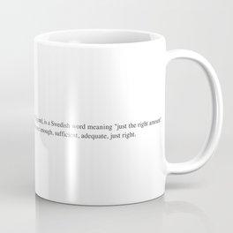 Lagom -Wiki Coffee Mug