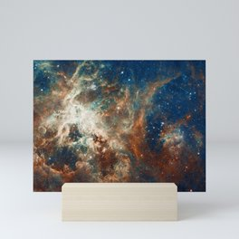 Space Nebula, Star and Space, A View of Galaxy and Outerspace Mini Art Print