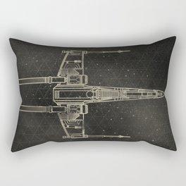 X-Wing Fighter Rectangular Pillow