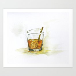 Tumbler  Art Print