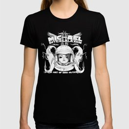 Michael Intergalaxon (Black & White) T-shirt