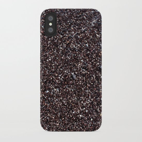 Black Sand IV (Red) iPhone Case