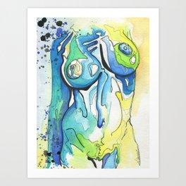 Babe #6 Art Print