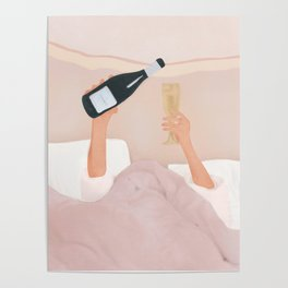 Morning Wine Poster