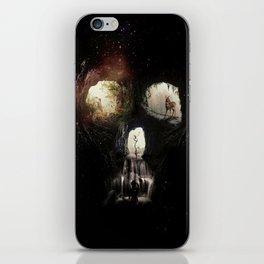 Cave Skull iPhone Skin