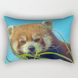 RED PANDA LOVE Rectangular Pillow
