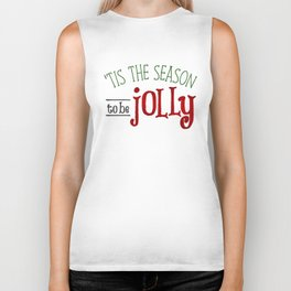 'Tis The Season To Be Jolly Biker Tank