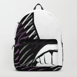 There's blood in my Mouth 'cause I've been biting my tongue all week Backpack