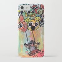 baloon iPhone & iPod Cases featuring baloon by Hugo Lucas