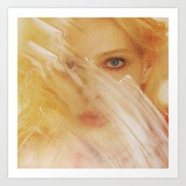 Blue Eyes in New York City Art Print