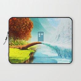 Tardis Season Laptop Sleeve