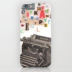 Paperback Writer Slim Case iPhone 6s