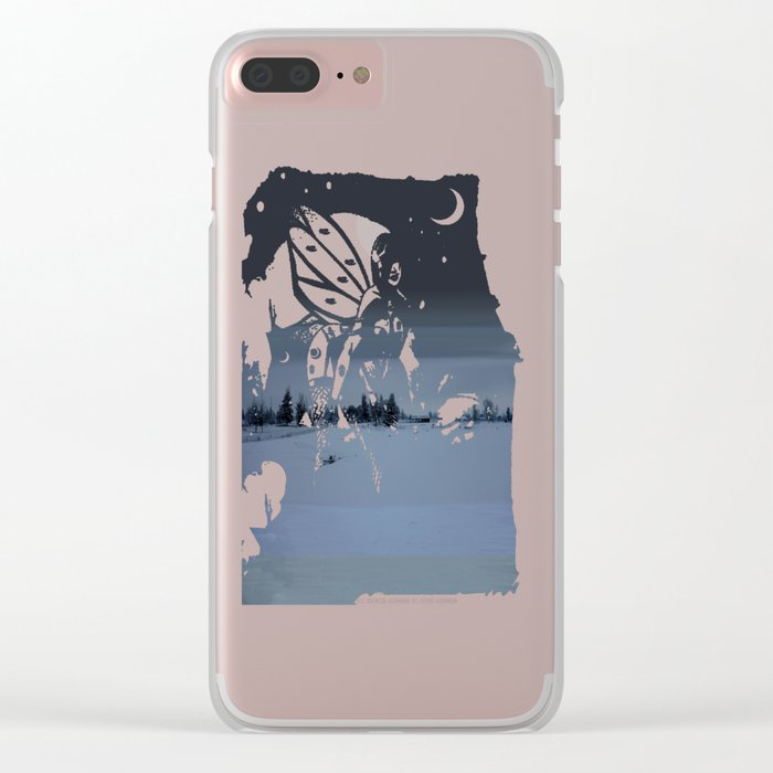 Storm Front Clear iPhone Case