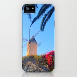 Tropical Windmill iPhone Case