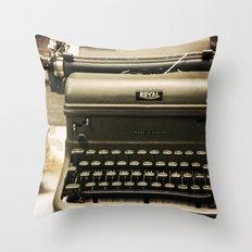 You never write... Throw Pillow