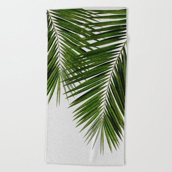 Palm Leaf II Beach Towel